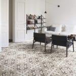 Pavimento in ceramica ad effetto mosaico di Dom Ceramiche